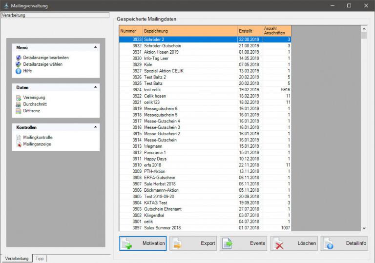 HILTES 4000 Kundenmailing